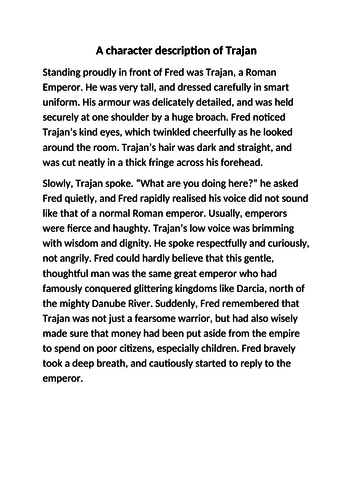 Roman emperor character description
