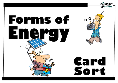Forms of Energy Card Sort