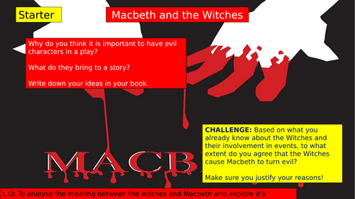 Macbeth's first meeting with the Witches