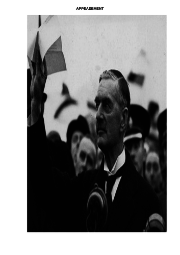 A Level History  Coursework Preparation Booklet on Appeasement