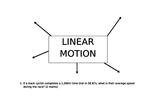 OCR A LEVEL PE- Linear Motion