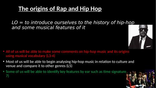 Rap SOW
