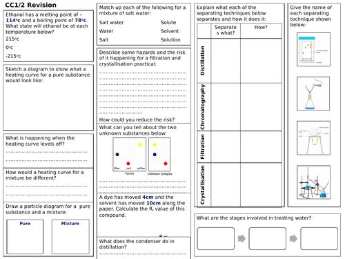 Edexcel CC1/2 Revision Worksheet