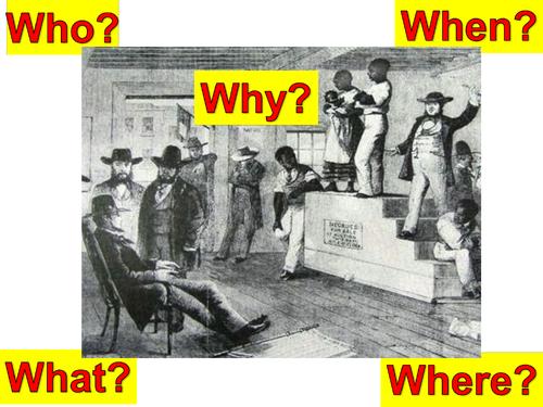 Slave Auction Lesson
