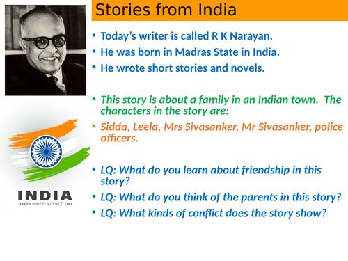 Leelas's Friend RK Narayan short story