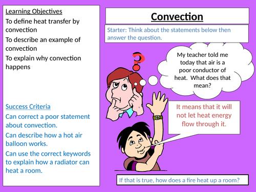 KS3 Physics - Convection