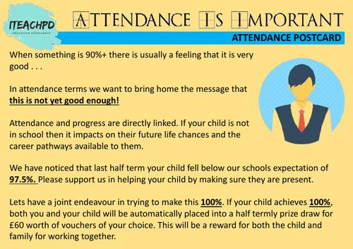 Attendance postcard 03