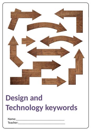 GCSE 9-1 Design and Technology keywords