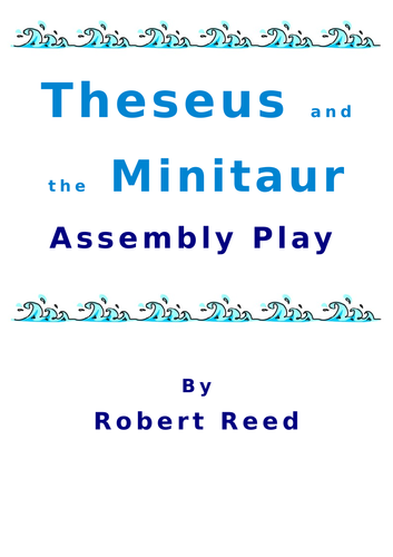 Greek Myths Assembly KS2 Theseus and the Minitaur