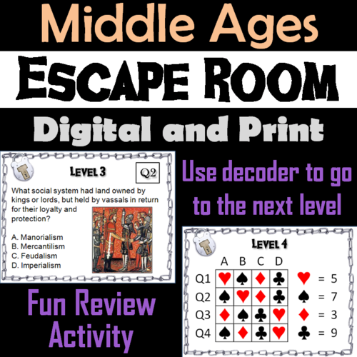 Middle Ages Escape Room