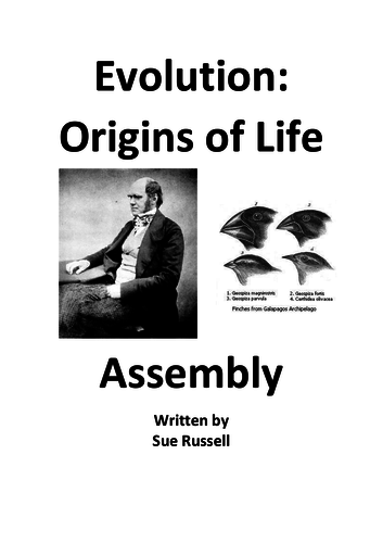 Evolution Assembly or Class Play