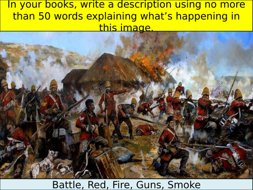 Why was there a battle at Rorke's Drift in 1879?