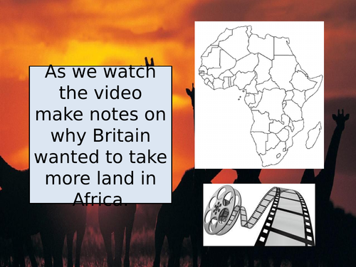 What was the Scramble for Africa?