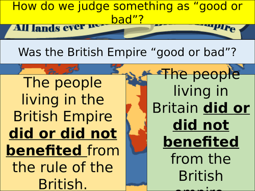 Was the British Empire a force for good?