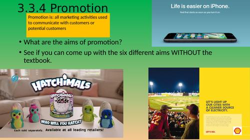 Promotion IGCSE