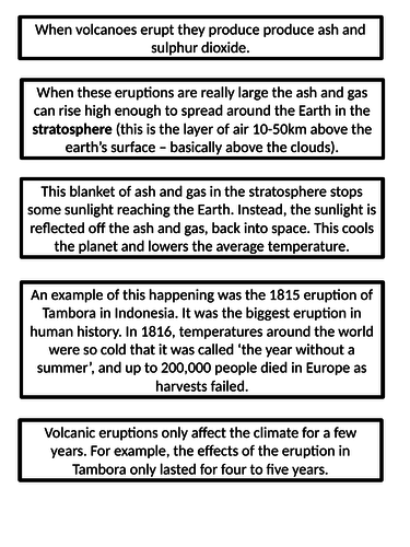 What are the natural causes of climate change?