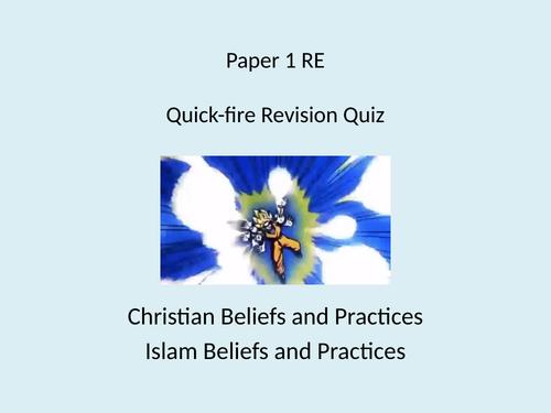 AQA Spec A Religious Studies - GCSE - Emergency Revision Lesson - Paper 1
