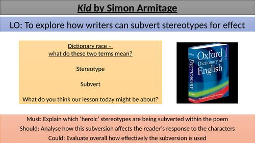 Kid - Subverting Stereotypes