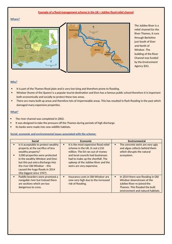 Jubilee flood relief channel case study
