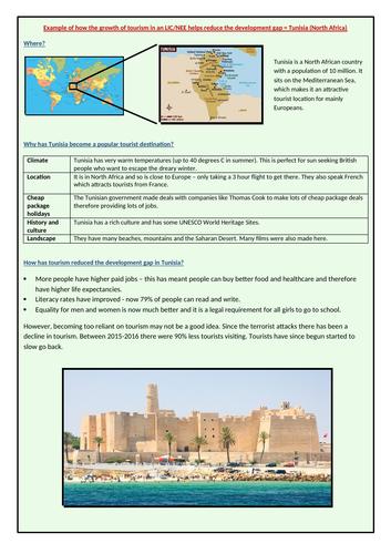 Tunisia tourism case study