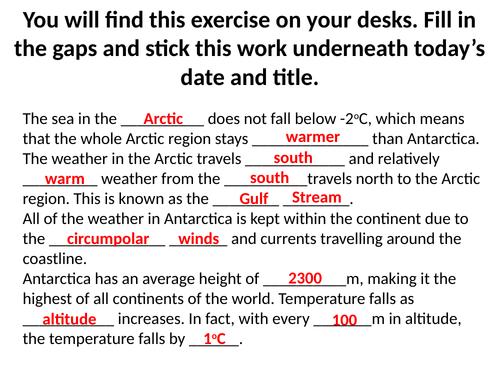 OCR A GCSE Geography 9-1 - Polar Regions Flora and Fauna