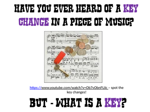 Key Signatures - What are they and how do you work them out?