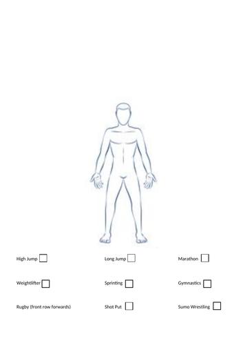 GCSE PE Lesson on somatotypes (AQA Specification)