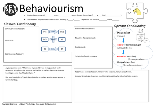 Key Ideas: The Behaviourist Approach to Psychology
