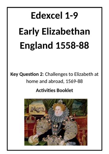 Revision- Early Elizabethan England KT2