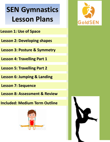 SEND Gymnastics Lesson Plans x8