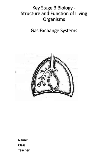 Biology - Gas exchange - Complete Science Key Stage 3 Unit