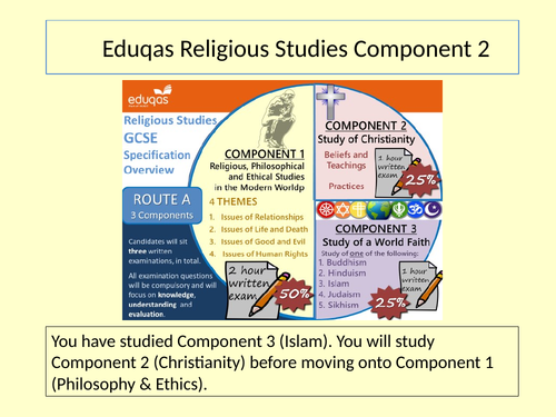 Eduqas Religious Studies Component 2 (Christianity) - Lesson 1 God of Classical Theism