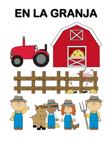En la granja - Lectura guiada