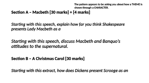 Detailed Context and Theme Revision for AQA Shakespeare: Macbeth
