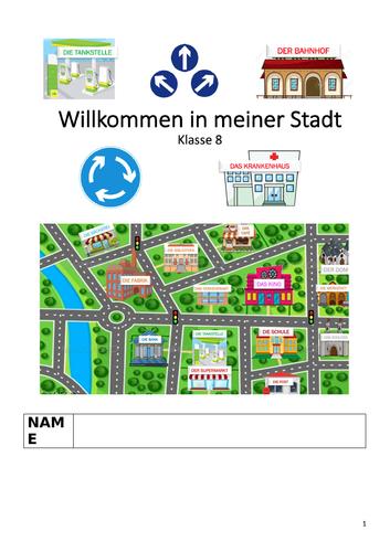 Willkommen in Meiner Stadt Booklet