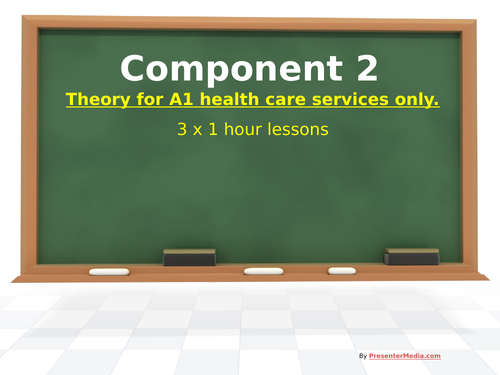 *New* L2 Tech Award H&SC Component 2 LAA Theory Lessons