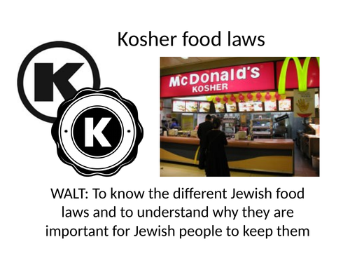 Kosher Food laws