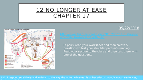 No Longer at Ease Chapter 17