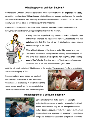Baptism (10/14)
