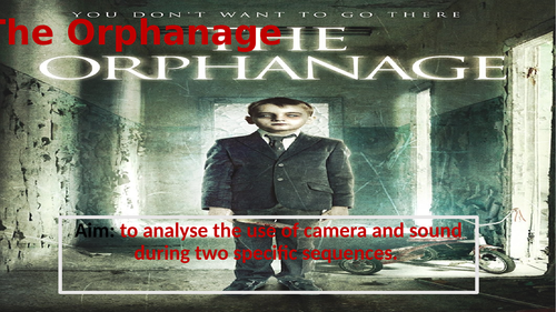 Intro to foreign language film- The Orphanage