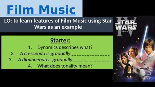 Star Wars lesson