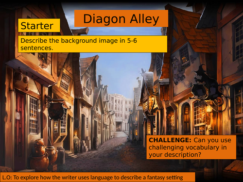 (KS3 7/8/9) Harry Potter: Diagon Alley