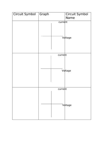 Component Graph Sheet