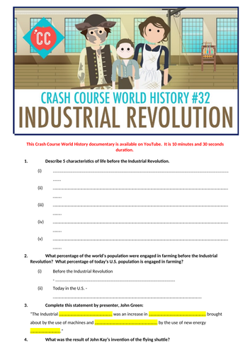 Crash Course World History: The Industrial Revolution