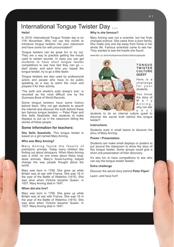 7 newsletter / worksheets
