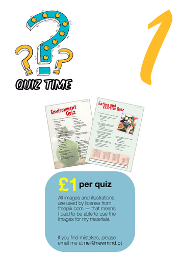 2 quizes / printables [# 1]