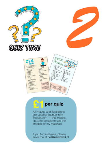 2 quizes / printables [# 2]