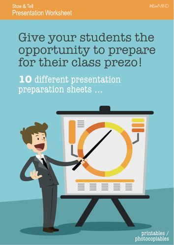 Presentation Preparation Worksheets