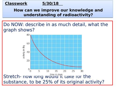 P7_radioactivity revision_AQA_revision clock