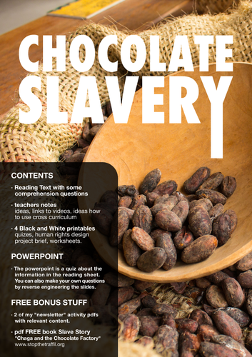 CLASS PROJECT: HUMAN RIGHTS [SLAVERY & CHOCOLATE]